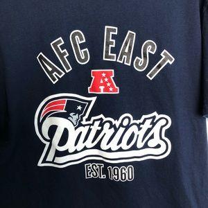 AFC East Patriots Tee Large